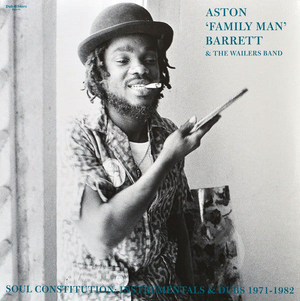 "Aston ""Family Man"" Barrett & The Wailers Band - Soul Constitution: Instrumentals & Dubs 1971-1982 - 2xLP - Dub Store Records - DSR LP 022"