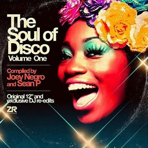 "Joey Negro and Sean P - The Soul of Disco Volume One - 2x12"" - Z Records - ZEDDLP007"