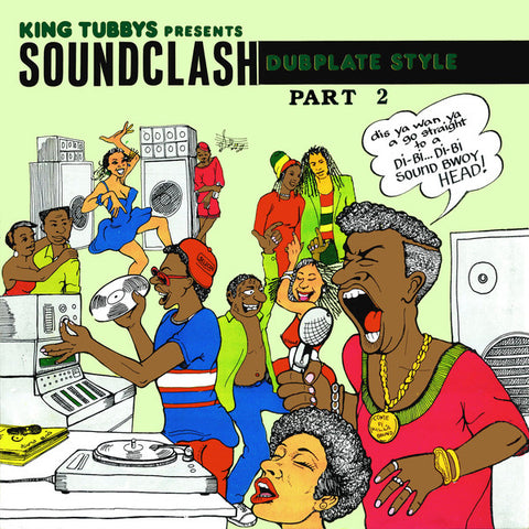 King Tubbys Presents Soundclash Dubplate Style Part 2 - LP - Dub Store Records - DSRLP614