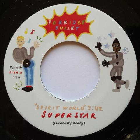 "Tapes vs Superstar - Spirit World - 7"" - Porridge Bullet - PB017"