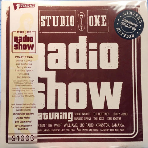 VA - Studio One Radio Show - LP - Studio One Records - S1003