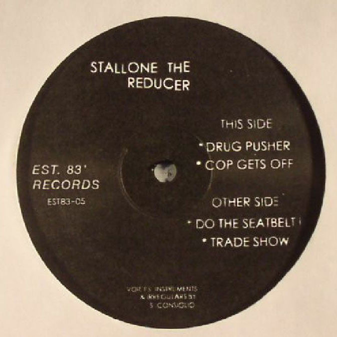 "Stallone the Reducer - Drug Pusher EP - 12"" - Est. 83' Records - EST.83-05"