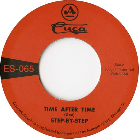 "Step-By-Step - Time After Time - 7"" - Numero Group - ES-065"