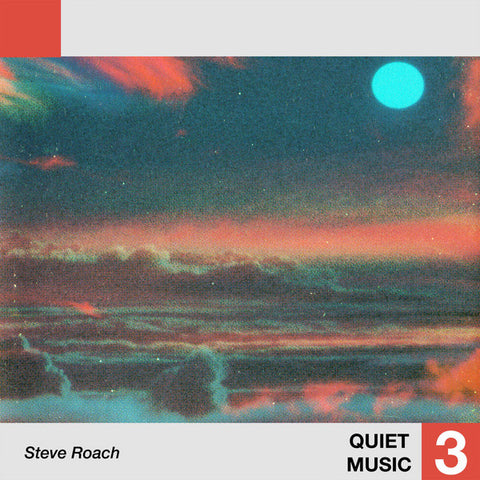 Steve Roach - Quiet Music 3 - LP - Telephone Explosion Records ‎- TER 064