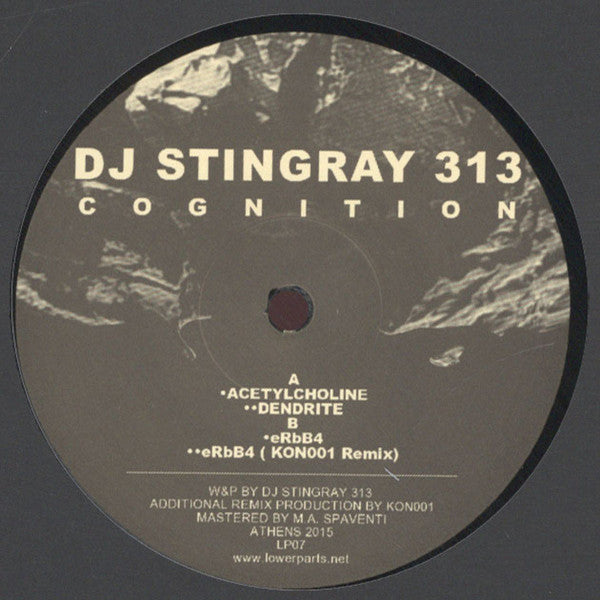 "DJ Stingray 313 - Cognition - 12"" - Lower Parts - LP07"