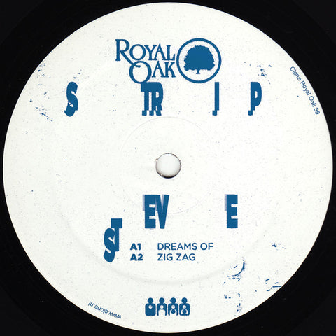 "Strip Steve - Shy Funk - 12"" - Royal Oak - ROYAL39"