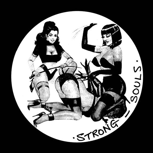 "Strong Souls ft Twanna X - Sensual / Original Ground - 12"" - Black Market Records - BM021"