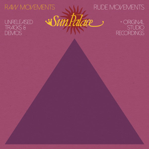 Sun Palace - Raw Movements / Rude Movements - 2xLP - BBE - BBE389ALP