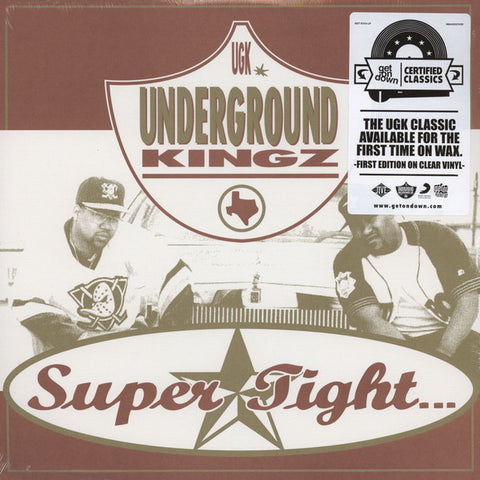 UGK - Super Tight... 2xLP - Get On Down - GET51313-LP