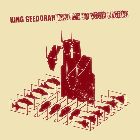 King Geedorah - Take Me To Your Leader (Red Vinyl Deluxe Edition) - 2xLP - Big Dada Recordings - BD051X