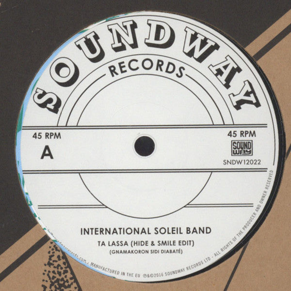 "International Soleil Band - Ta Lassa - 12"" - Soundway - SNDW12022"