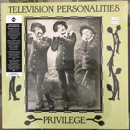 Television Personalities - Privilege - LP - Fire Records - FIRE LP21