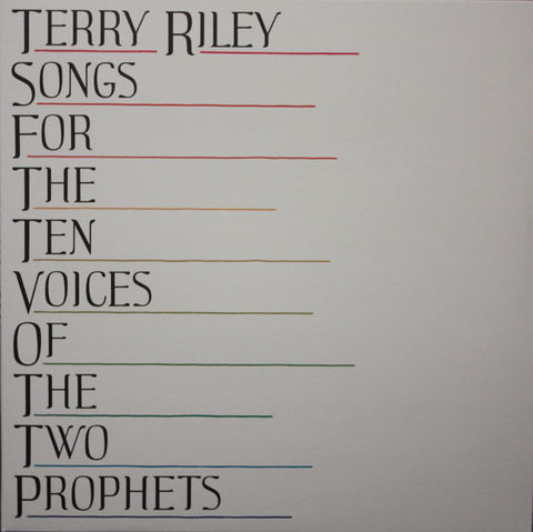 Terry Riley - Songs for the Ten Voices of the Two Prophets - LP - Beacon Sound - BNSD018