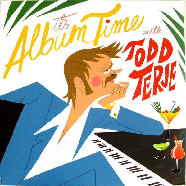 "Todd Terje - It's Album Time - 2x12"" - Olsen - OLS006LP"