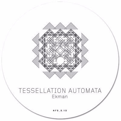 "Ekman - Tessellation Automata - 12"" - Abstract Forms - AFS_0.13"