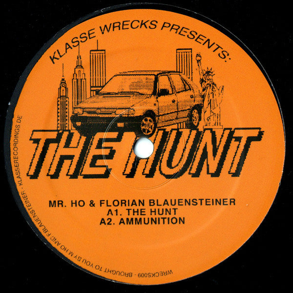 "Mr. Ho & Florian Blauensteiner - The Hunt - 12"" - Klasse Wrecks - WRECKS009"