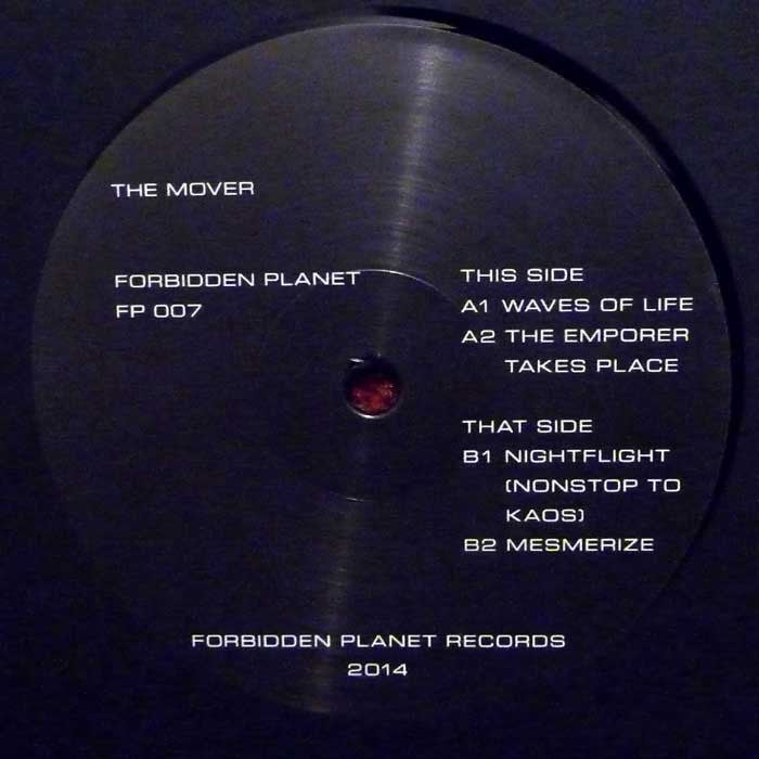 "The Mover - 12"" - Forbidden Planet - FP007"