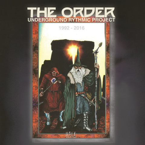 The Order - Underground Rythmic Project: 1992 - 2016 - LP - Male Productions - ML 003 LP