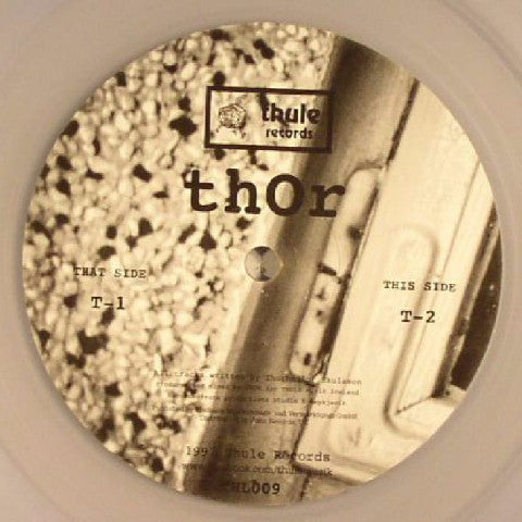 "Thor - T1 / T2 - 12"" - Thule Records - THL009R"