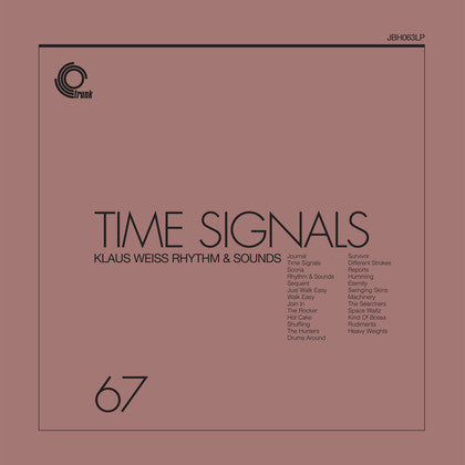 Klaus Weiss - Time Signals - LP - Trunk Records - JBH063LP