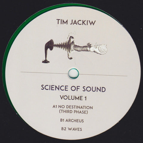 "Tim Jackiw - Science of Sound - 12"" - Recondite - RCN 004"