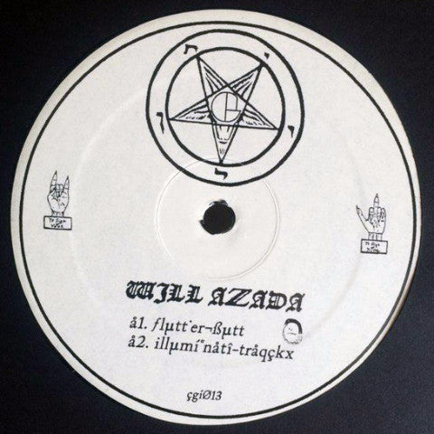 "Will Azada / Alex Falk - The Illuminati Traqckx - 12"" - CGI Records - CGI013"