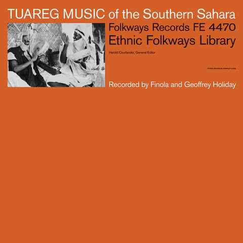 VA - Tuareg Music Of The Southern Sahara - LP - Folkways Records - FE 4470