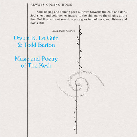 Ursula K. Le Guin & Todd Barton - Music and Poetry of the Kesh - LP - Freedom to Spend - FTS009