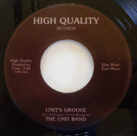 "The Unit Band - Unit's Groove - 7"" - Soul Thrills - ST45­‐001"