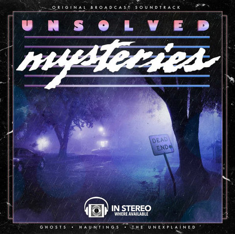 Gary Malkin - Unsolved Mysteries - LP - Terror Vision - T.V.013