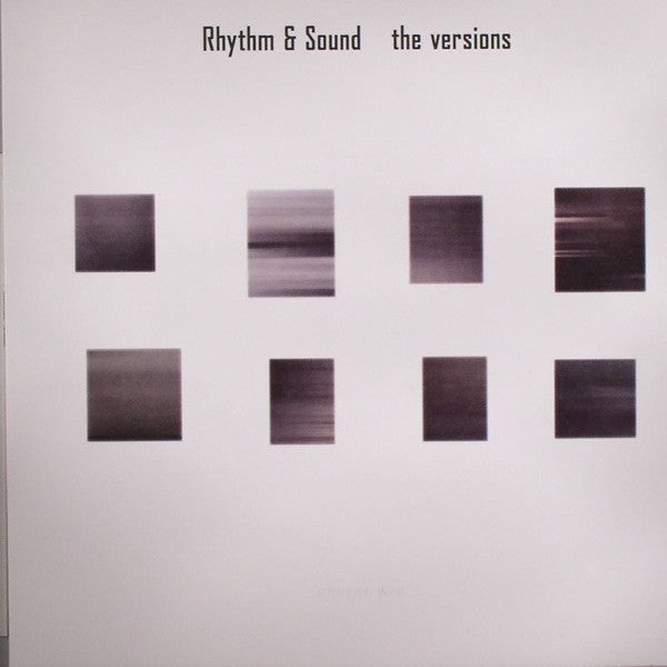 Rhythm & Sound - The Versions - LP - Burial Mix - BMLP-3