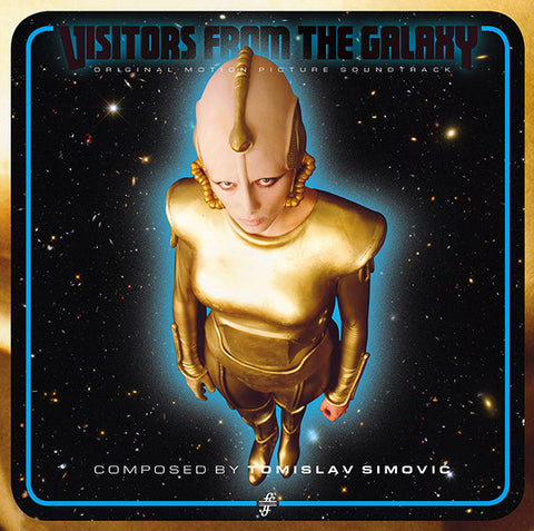 Tomislav Simović - Visitors from the Galaxy - LP - Fox & His Friends - FOX001LP