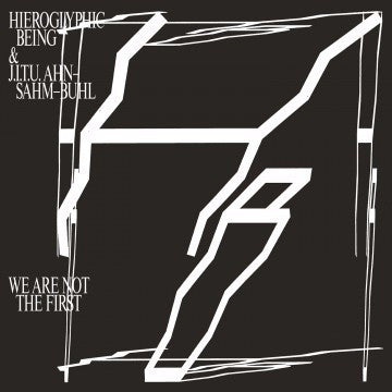 Hieroglyphic Being & J.I.T.U. Ahn-Sahm-Buhl - We Are Not The First - 2xLP - Rvng Intl. - RVNGNL33