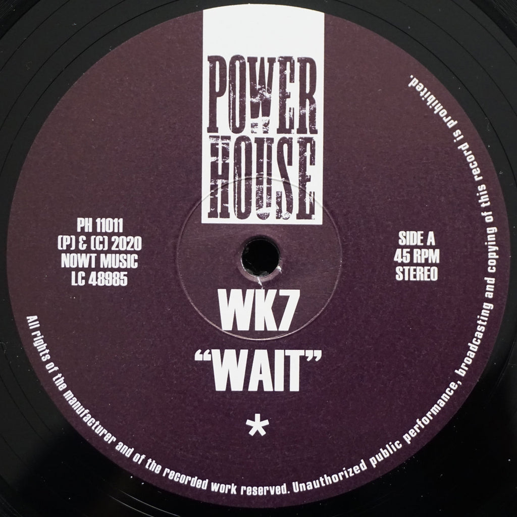"WK7 - Wait - 12"" - Power House - PH 11011"