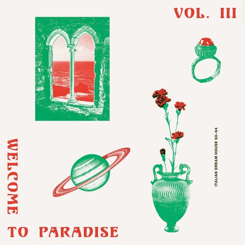 VA - Welcome To Paradise Vol. III: Italian Dream House 89-93 - 2xLP - Safe Trip - ST 003-3 LP - PREORDER