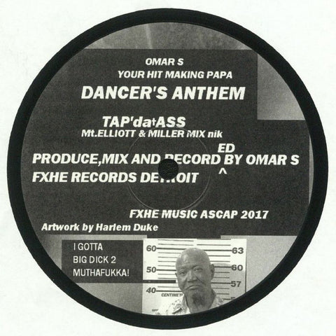"Omar-S - Your Hit Making Papa - 12"" - FXHE Records - AOS 808"