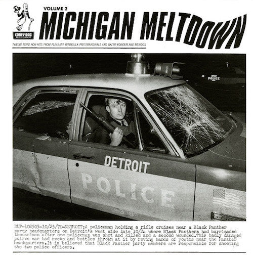 VA - Michigan Meltdown Volume 2 - LP - Coney Dog Records - CDR-586
