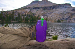 John Jennings found a new use for the Aqua Clip on a Platy. Mount Hoffman in Yosemite in the background.