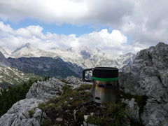 Velimir Kemec is probably our customer who sends the most breathtaking shots.....here's his Companion Cup Sidewinder overlooking another spectacular view!