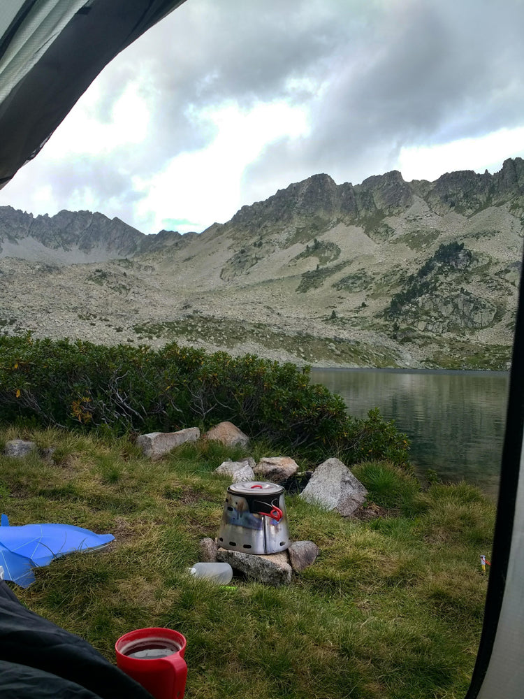 Jason Cole's also took a trip to the French Pyrenees with his Sidewinder Ti-Tri and Evernew 900.