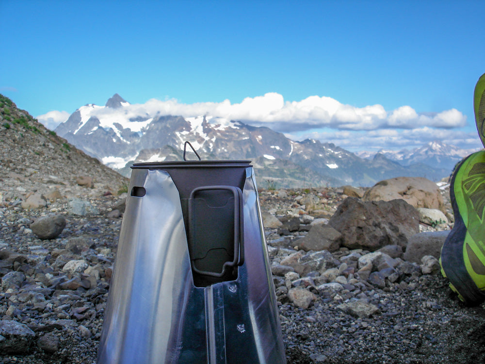 Keith Johnson sends us these pictures from his Cascades adventure.  He wanted us to know that: The CC rocked our world!