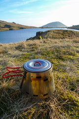 "Adrian Fortune sends us pictures of his Sidewinder Ti-Tri and 600ml Evernew in The UK Lake District. He notes: ""Got on very well with it,lovely piece of kit."""