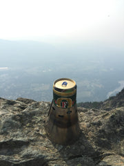 Jeremy LeFave summited Mount Si and sent this picture from the highest point. He notes that it's a little smokey from all the Washington fires but the Caldera Keg-F doesn't care!