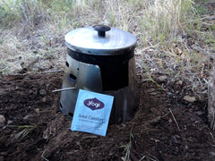 Outward Bound instructor Trevor McKee sends us this shot of his Sidewinder during his PCT through hike. See, even the humble KMart Grease Pot deserves a Sidewinder!