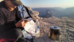 Paul Koenig giving his Sidewinder a workout overlooking Half Dome in Yosemite. It appears he's on the ridge to Clouds Rest! :-)