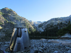 Luke Unis sends us these pictures of his Fissure Ti-Tri and SP1400 from Waptus and Spade Lake, in the Northern Cascades.