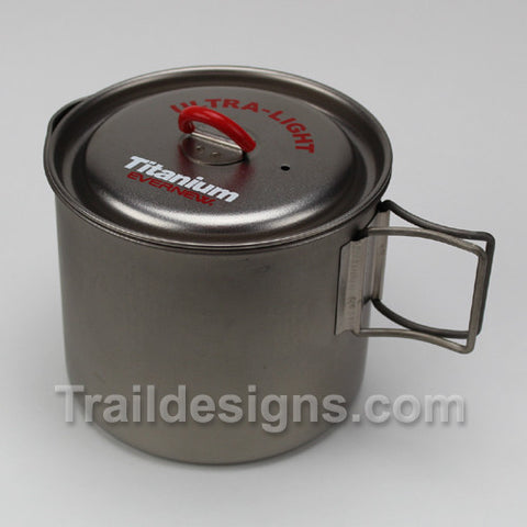 Evernew 900ml Titanium Ultra Light Mug Pot (ECA267)