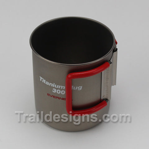 ECA347 300ml Single Wall Folding Handle Mug