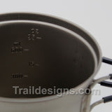 Evernew Titanium Ultra Light Deep Pot .9L (ECA265)