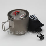 Evernew Titanium 500ml Ultra Light Mug Pot (ECA266)